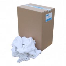 Poetslappen, witte handdoek/badstof